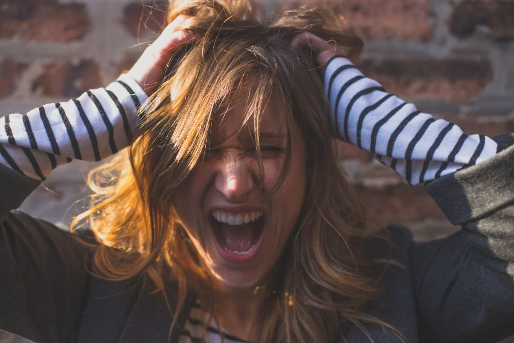 anger management therapy tools pulling your hair out