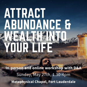 abundance and wealth